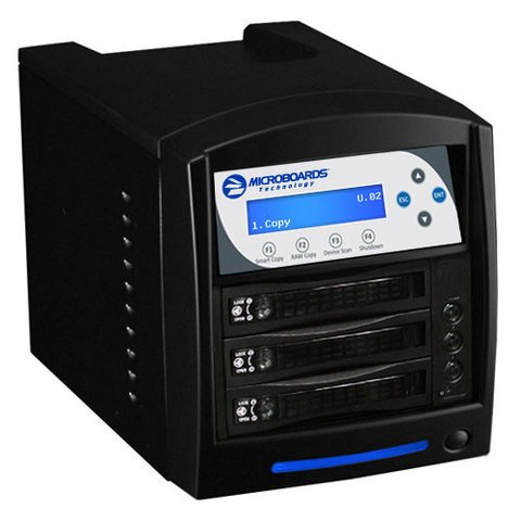 Microboards 2-Drive HDD Duplicator - CW-HDD-02 / 22838