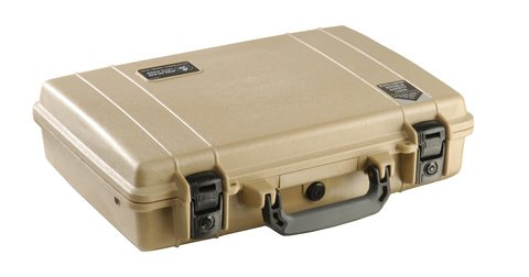 Pelican 1470 Case (No Foam) - Desert Tan