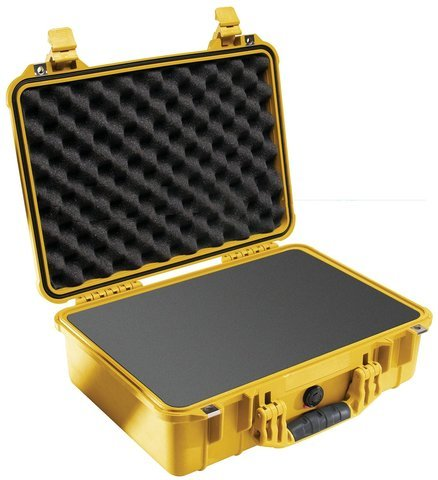 Pelican 1500 Case - Yellow