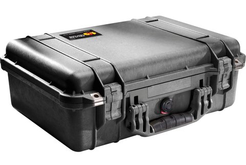 Pelican 1500 Case (No Foam) - Black