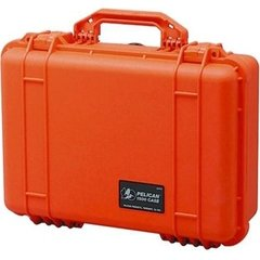 Pelican 1500 Case (No Foam) - Orange