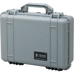 Pelican 1500 Case (No Foam) - Silver