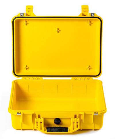 Pelican 1500 Case (No Foam) - Yellow