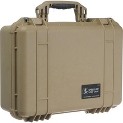 Pelican 1500 Case (No Foam) - Desert Tan
