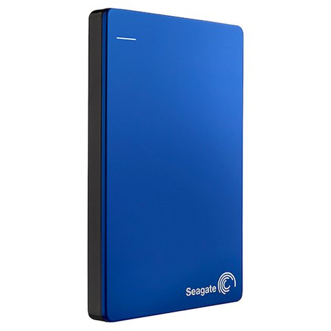 Seagate 2TB Backup Plus Slim Portable Drive - Blue