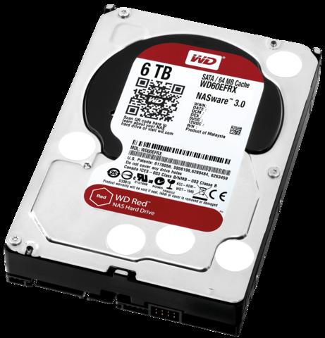 Western Digital 6TB RED NAS Internal 3.5