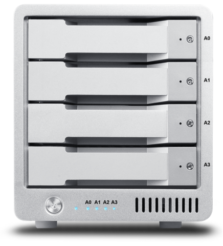 CalDigit 4.096TB T4 Thunderbolt 2 SSD RAID Drive
