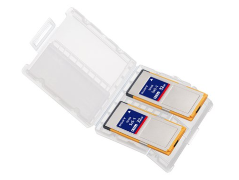 Sony SxS-1 32GB Memory Card 2-Pack