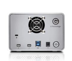8TB G-RAID Removable Dual Drive System with Thunderbolt