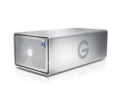 16TB G-RAID Removable Dual Drive System with Thunderbolt