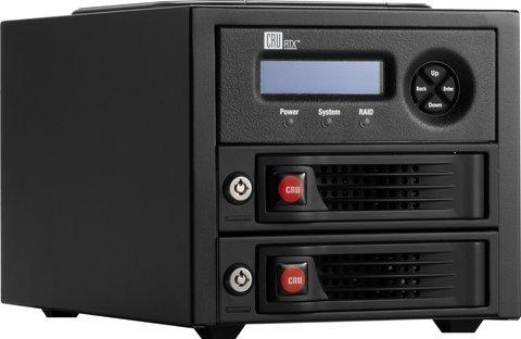 CRU RTX RTX220-3QR DAS Array with 2 HDD Bays -