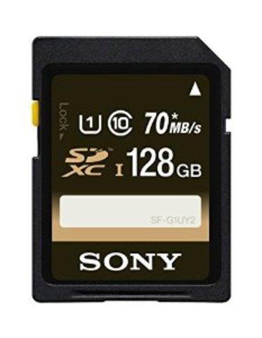 Sony 128GB SDXC UHS-1 Memory Card