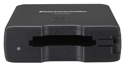Panasonic - AU-XPD1 Single Slot P2 Memory Card Drive