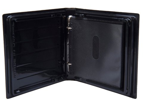Rose Packaging 1 Inch Black Disc Binder