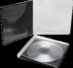 Polyline CD/DVD Vinyl Sleeve UNXGBLK.500