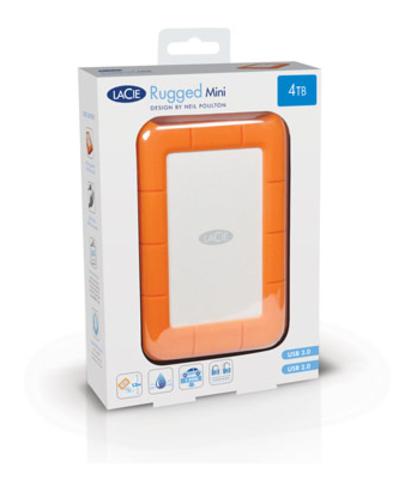LaCie 4TB Rugged Mini - USB 3.0