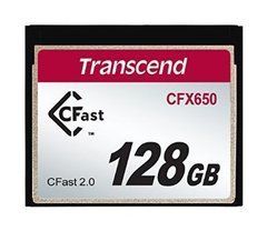 Transcend 128GB CFast 2.0 CFX650 Memory Card