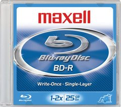 Maxell 2x BD-R Logo Branded - 1 Disc