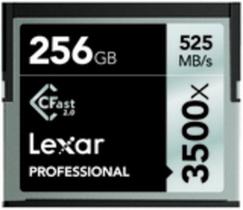 Lexar Professional 3500x 256GB CFast 2.0 Memory Card
