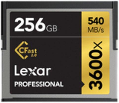 Lexar Professional 3600x 256GB CFast 2.0 Memory Card