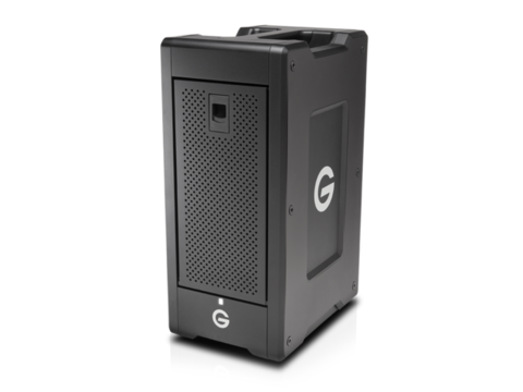 64TB G-SPEED Shuttle XL Thunderbolt 2