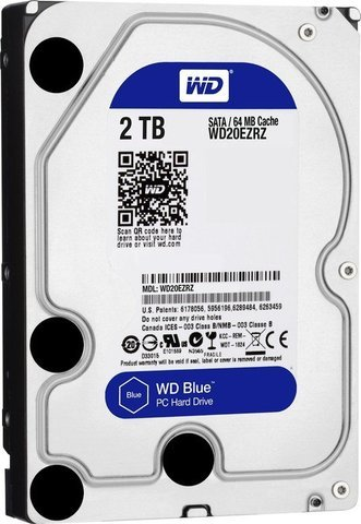 Western Digital Blue 2TB 3.5