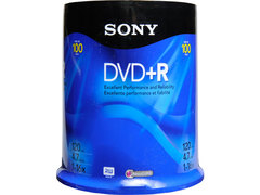 Sony DVD+R Spindle 100 Discs