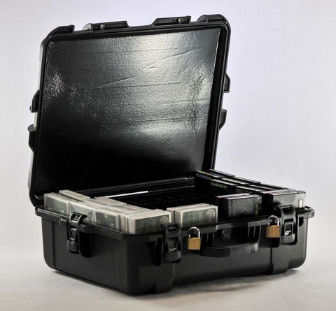 Turtle TeraTurtle LTO/3592 50 Capacity Waterproof Case