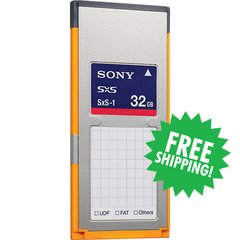 Sony - SxS-1 32GB Memory Card