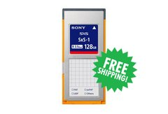 Sony - SxS-1 128GB Memory Card