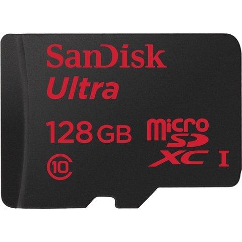 SanDisk Ultra 128GB microSDHC Class 10 Memory Card