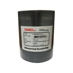 CMC Pro 52x CD-R White Thermal Printable - 100 Discs