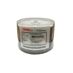 CMC Pro 52x CD-R Watershield White Inkjet Printable