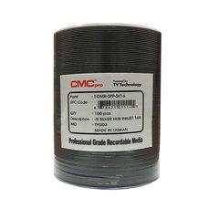 CMC Pro 16x DVD-R Silver Inkjet Printable - 100 Discs