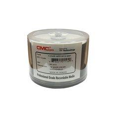 CMC Pro 16x DVD-R WaterShield White Inkjet Printable - 50 Discs
