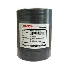 CMC Pro 16x DVD-R White Inkjet Hub Printable, 100 Discs