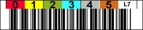 Tri-Optic LTO 7 Horizontal Label
