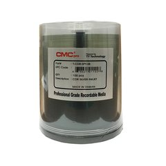 CMC Pro 52x CD-R Silver Inkjet Printable - 100 Discs