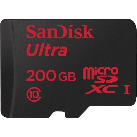 SanDisk Ultra 200GB microSD Memory Card