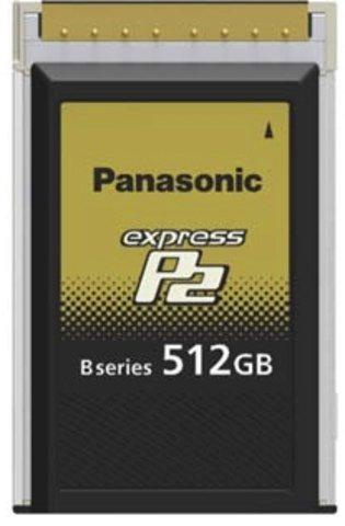 Panasonic 512GB B-Series expressP2 Card - AU-XP0512BG