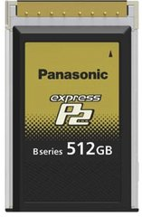 Panasonic 512GB B-Series expressP2 Card - AU-XP0512BG