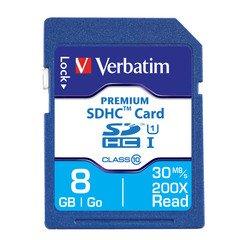 Verbatim 8 GB SDHC Card Class 10