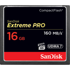 16GB Extreme Pro Compact Flash Card UDMA 7