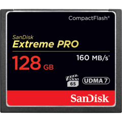 SanDisk 128GB Extreme Pro Compact Flash Card UDMA 7