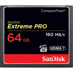 64GB Extreme Pro Compact Flash Card UDMA 7