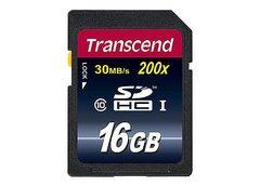 Transcend 16GB SDHC Card Class 10