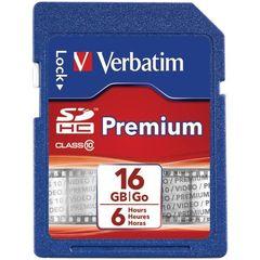 Verbatim 16GB SDHC Card Class 10