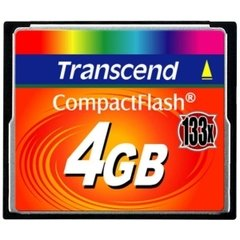 Transcend 4GB CompactFlash Card 133x
