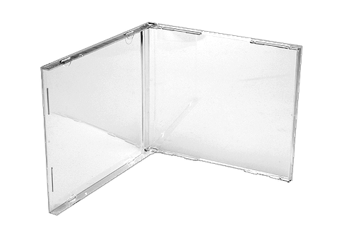 Clear Jewel Case - No Tray