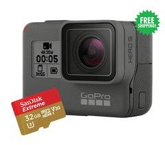 GoPro HERO5 Black + SanDisk Extreme 32GB microSD Card